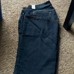NWT Dark Boot cut jeans torrid